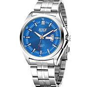 Men's Fashion Watch Digital Disk Double Calendar Quartz Men Strip Waterproof Watch(Assorted Colors) Cool Watch Unique Watch