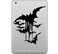Hat-Prince Bats Pattern Removable Decorative Sticker for IPAD
