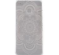Sunflower Pattern TPU Phone Case For Huawei Ascend P9 / P9 Lite