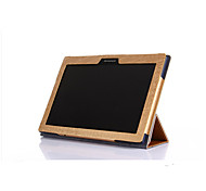 para el caso de la cubierta a10-30 lenovo Sep2 disponibles de alta calidad fina 3 plegable de cuero del tirón para la lengüeta 2 de la