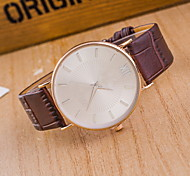 Men's Fashionable Quartz Watch Leather Band Wrist Watch Cool Watch Unique Watch