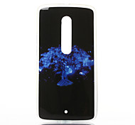 Feather Pattern TPU Soft Case for Motorola MOTOX Play