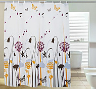 Dandelion Thick Polyester Shower Curtain 180X200
