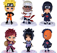 Naruto Monkey D. Luffy PVC Figures Anime Action Jouets modèle Doll Toy