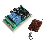 12V 2-Channel Wireless Remote Power Relay Module with Remote Controller (Input AC  AC 85-260V )
