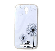 Romantic dandelion New Soft TPU Back Case Cover For DOOGEE Valencia 2 Y100 Mobile phone bags Cases