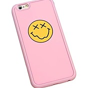 The Stars Eyes Smiling Face Gel Wrapping Back Cover for iPhone6/iPhone 6s(Assorted Colors)