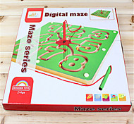 Digital maze magnetic intelligence toy