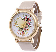 Women's  Fashion Personality  Rhinestone Quartz  Leather Lady Watch Cool Watches Unique Watches