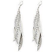 European Style Gold/Silver Leaf Earrings Jewelry for Women