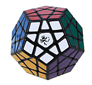 Dayan® Smooth Speed Cube Megaminx Speed Magic Cube Black ABS