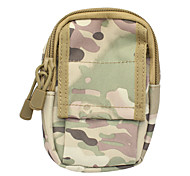 M3 600D Outdoor Multifunctional Water-Resistant Nylon Waist Bag - WoodlandCamouflage