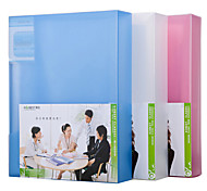 Multifunction Portable Files Folders & Filing for Office 30pages Random Colors