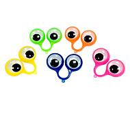 Porta-Chaves Olhos Adorável / Fashion Porta-Chaves Arco-Íris Plástico
