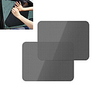 ZIQIAO 2Pcs/Lot Car Sunshade Covers Black Sticker Car Static Sunshade Sticker Static Sunshade Sticker