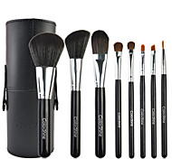 Makeup Brushes Set black Barrel 8pcs/Set