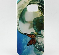 Big Butterfly Pattern TPU Soft Case for Galaxy S7 Edge/Galaxy S7/Galaxy S6