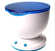 LED-Nachtlicht Projektor Ozean Daren Wellen-Projektor-Projektionslampe mit Lautsprecher