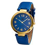Men's Japanese Quartz Black Leather Band Dress Watch Jewelry Wrist Watch Cool Watch Unique Watch