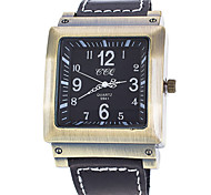 Men's  Retro Square Dial Watch Cool Watch Unique Watch