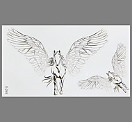 Fashion Tattoo Flying Horse Waterproof Tattoo Stickers
