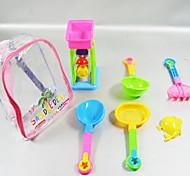 Chariot jouets de plage d'été (7pcs)