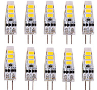 3W G4 2-pins LED-lampen T 6 SMD 5730 500-700 lm Warm wit / Koel wit Decoratief DC 12 V 10 stuks
