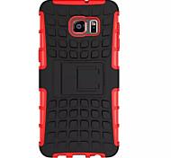 couvre silicone souple en plastique étui rigide pour samsung galaxy s6 / s6edge / s6edge ainsi que le cas porte support pour téléphone
