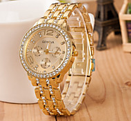 Men's Watch Quartz Fashion Watch Alloy Band Wrist watch Cool Watch Unique Watch