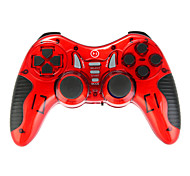 sei in un controller wireless per USB / PS2 / PS3 / PS1 / android TV / contenitore di Android TV / win10 rosso