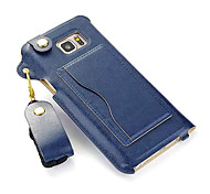 PU Leather Belt Hang Rope Cell Phone Holster Protection Cover for Samsung Galaxy Note2/3/4/5
