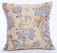 Jacquard Chenille Cushion Cover -Purple