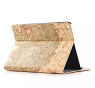 Retro style Map Prints PU leather Flip Hard Cover Tablet Case For Apple iPad Air Smart Stand Protective Case