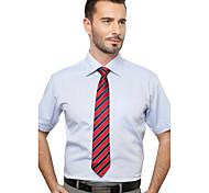 JamesEarl Men's Shirt Collar Short Sleeve Shirt & Blouse Purple - M21X5000105