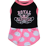 Dog Dress / Dress  A variety of colors / Summer  Tiaras / Crowns Fashion