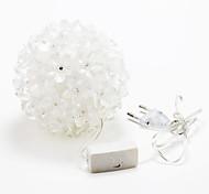 50-LED 3W decorazione vacanza all'aria aperta LED RGB della stringa 220v luce
