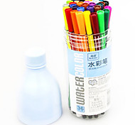 Plastic Cute Water Color Pens
