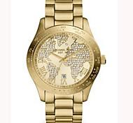 Geneva Strip Watch Women,Watch World Map,Michael Kores Watch,Gold watch,montre femme,wristwatch,Send watch box Cool Watches Unique Watches