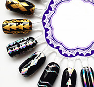 New Laser Sticker PVC Lovely Nail Jewelry