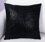 PU Cushion Cover -Black