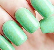 Ekbas Environmentally Safe Sugar Gum Green Matte Nail Glue 16ML Nail Polish