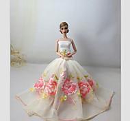 Barbie Doll-Abiti-Party & Sera- diRaso / Pizzo-Bianco-Abiti