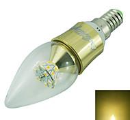 5W E14 Luces LED en Vela C35 25 SMD 2835 500 lm Blanco Cálido Decorativa AC 85-265 / AC 100-240 / AC 110-130 V 1 pieza