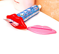 dispensador de pasta de dientes polivalente socio exprimidor color al azar