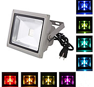 HRY® 20W 2000LM RGB LED Flood Light IP65 Outdoor Light Reflector Spot Floodlight Remote Control  (12V)