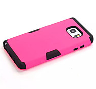 3-In-1 Phone Cases For Samsung Galaxy Note 5 Hard &Soft Rubber Hybrid Armor Case Cover