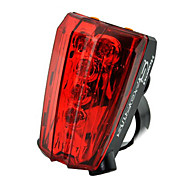 Bike Light , Rear Bike Light / Bike Lights - 4 or more Mode Lumens Waterproof AAA Battery Cycling/Bike Red Bike Others