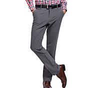 Lesmart Hommes Droite Pantalon Noir / Gris - LW13456