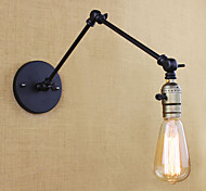 Industrial-Style Retro Antique Double The Long-Arm Wall Lamp With Switch