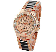2016 CONTENA  Female Fashion Watches Water Resistant Diamond Dial Luxury Women'ss Watch  Europe Wind(Assorted Color) Cool Watches Unique Watches